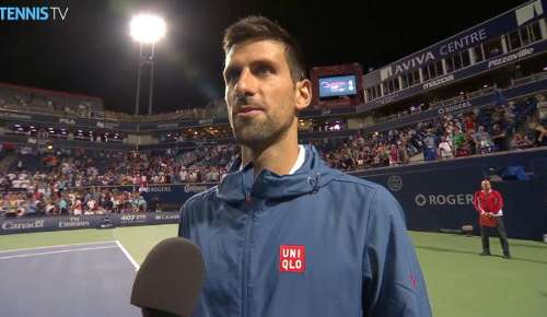 Djokovic Interview: ATP Toronto SF