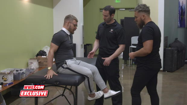 Tyler Bate learns he is not medically cleared for the Dusty Rhodes Tag Team Classic: WWE.com Exclusive, March 16, 2018