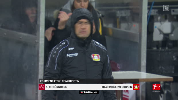 Bundesliga: 1. FC Nürnberg - Bayer 04 Leverkusen | DAZN Highlights