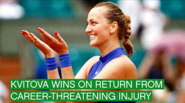 تنس: بطولة فرنسا المفتوحة: اليوم الأول - فرح كفيتوفا ويأس كيربر