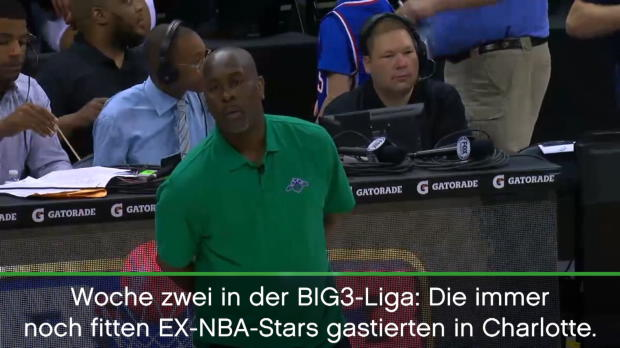 BIG3: Iverson-Team unterliegt Longball-Bibby