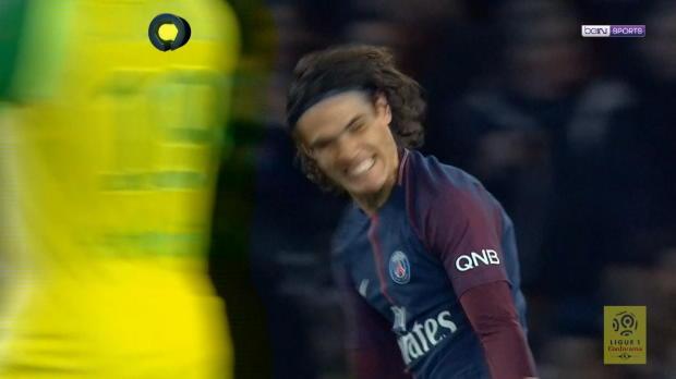 Cavani-Doppelpack: PSG fertigt Nantes ab