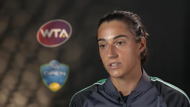 """Tennis : Cincinnati - Garcia - """"Sabalenka, une joueuse agressive et puissante"""""""