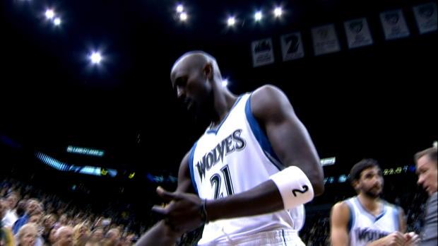 Basket : NBA - Timberwolves - Garnett de retour dans sa tanière