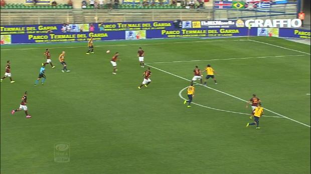 Serie A Round 1: Verona 1-1 Roma
