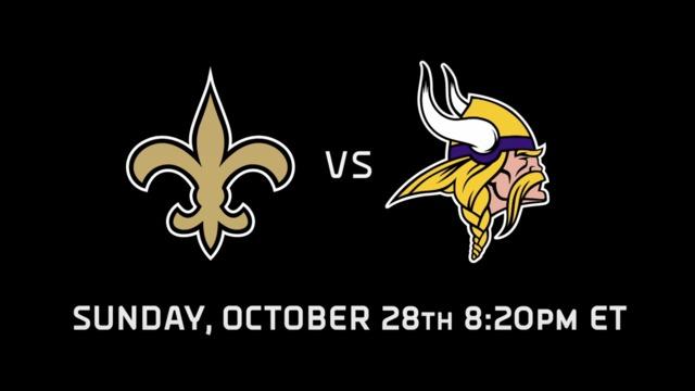 Schedule Release Trailer: Saints vs. Vikings
