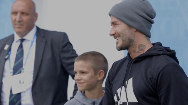 """Queen's: Beckham trifft Murray: """"Tolles Vorbild"""""""