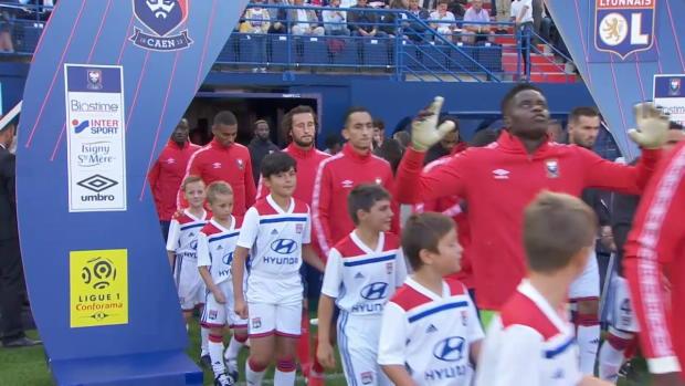 Ligue 1: Caen - Lyon   DAZN Highlights