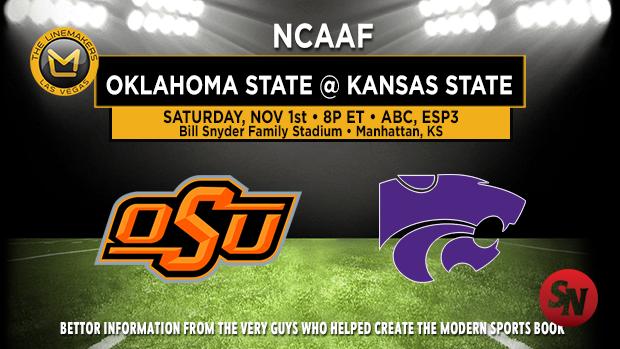 Oklahoma State Cowboys @ Kansas State Wildcats