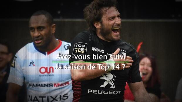 Rugby : Top 14 - Quiz : Avez:vous bien suivi la saison de Top 14 ?