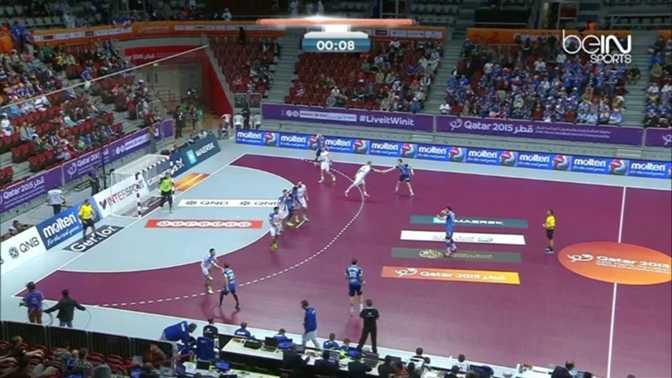 Hand : France 26-26 Islande