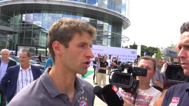 """Müller: """"Bösartig passiert bei Ribery nichts"""""""