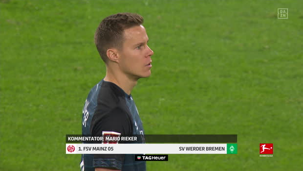 Bundesliga: 1. FSV Mainz - SV Werder Bremen   DAZN Highlights