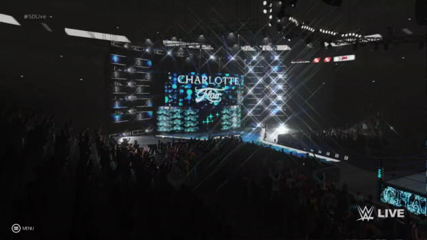 WWE 2K19 Charlotte Flair entrance video