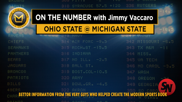 Jimmy V on Ohio State @ Michigan State