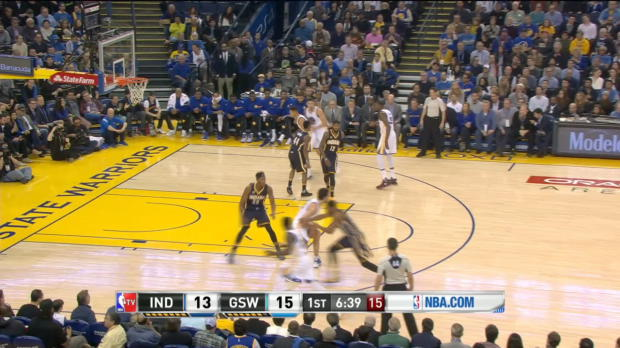 GAME RECAP: Warriors 142, Pacers 106