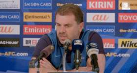 Ange Postecoglou says he is expecting a tough test against Thailand in Bangkok.