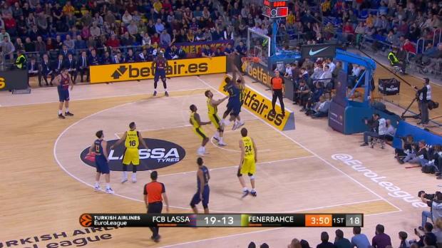Basket : Euroligue - Les meilleures actions de la 11e j.