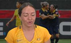 Westfield Matildas star Kyah Simon says facing Brazil is always a massive occasion and reflects on some huge highlights against them.