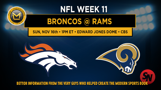 Denver Broncos @ St. Louis Rams