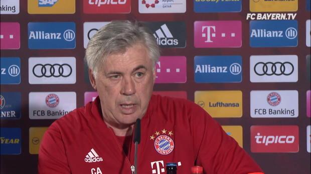 """Ancelotti: Coman? """"Wird bei Bayern bleiben"""""""