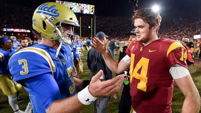 Josh Rosen: All of the QB draftees root for each other