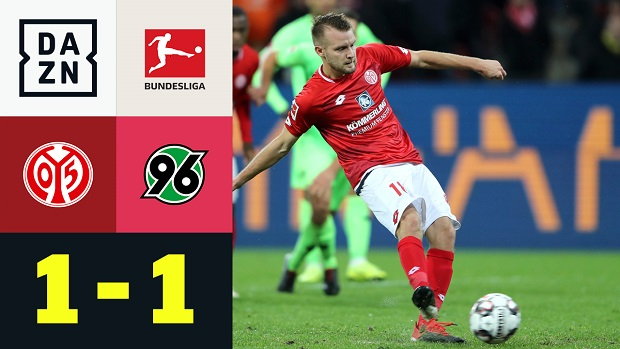 Bundesliga: 1. FSV Mainz - Hannover 96 | DAZN Highlights