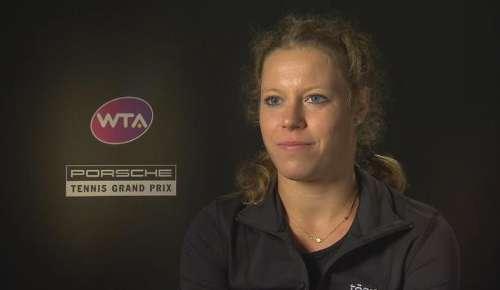 Siegemund Interview: WTA Stuttgart QF