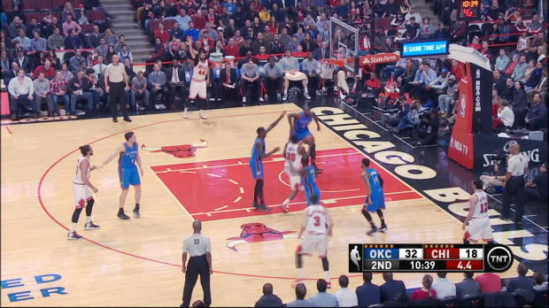 Block of the Night: Serge Ibaka