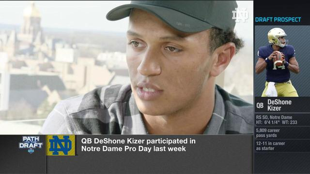 DeShone Kizer talks emulating Tom Brady and possibility of being a backup