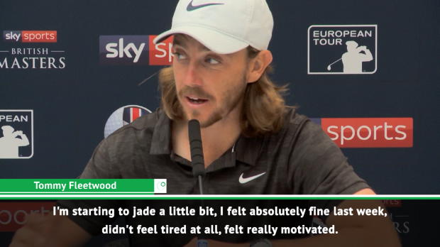 "GOLF: British Masters: ''I'm a little jaded but absolutely fine"" - Fleetwood"