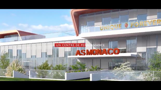 Monaco - Les images du projet du futur centre d'entraînement
