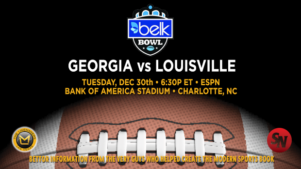 Georgia Bulldogs vs. Louisville Cardinals