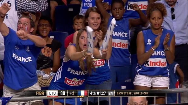Basket : FIBA - Bleus - La France sur le podium