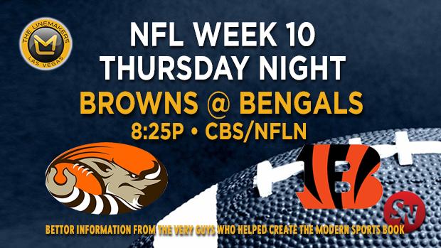 Cleveland Browns @ Cincinnati Bengals