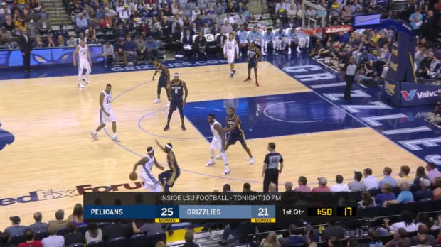 WSC: Highlights: DeMarcus Cousins (28 points) vs. the Grizzlies, 10/18/2017