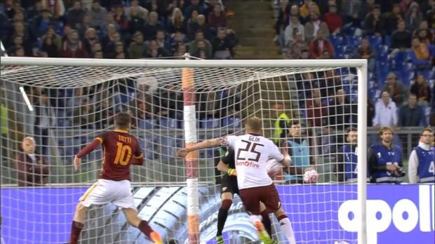 Totti mit Last-Minute-Doppelpack