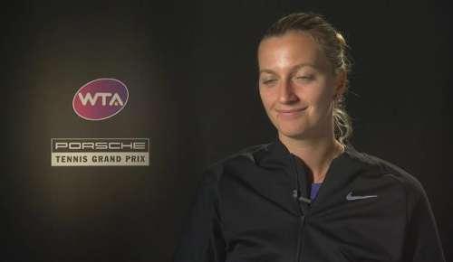 Kvitova Interview: WTA Stuttgart 2R