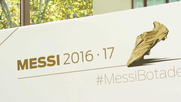 Goldener Schuh: Messi zieht mit CR7 gleich