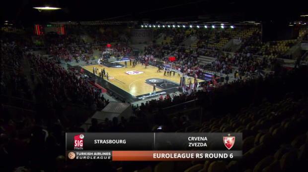 Highlights-Strasbourg-Crvena-Zvezda-Telekom-Belgrade