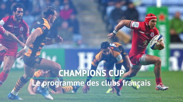 Rugby : 4e j. - Le programme des clubs français
