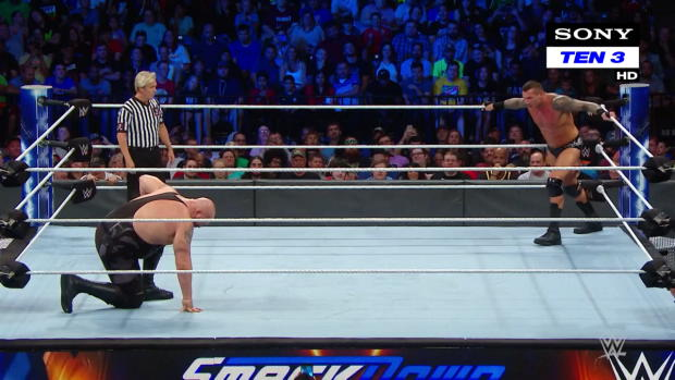Big Show vs. Randy Orton - WWE World Cup Qualifying Match: SmackDown LIVE, 9 October, 2018