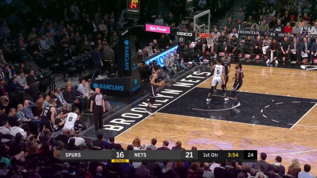 WSC: LaMarcus Aldridge 34 points vs the Nets