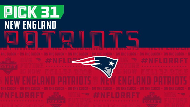 New England Patriots pick No. 31 | NFL Mock Draft Live