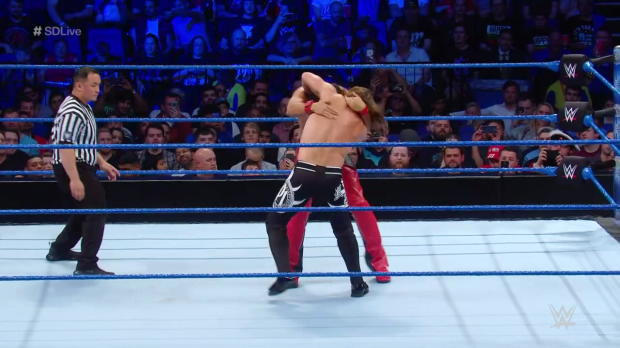 AJ Styles vs. Shinsuke Nakamura - Winner Chooses Stipulation for WWE Money in the Bank: SmackDown LIVE, May 15, 2018