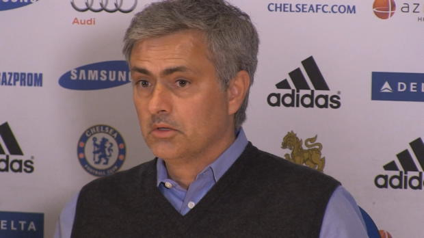 "Foot : P.League - Chelsea, Mourinho : ""Incroyable performance de l'arbitre"""
