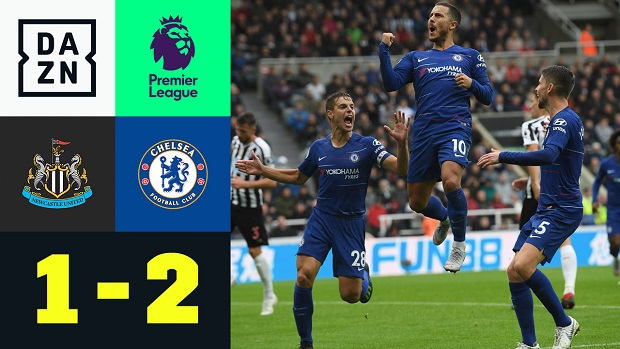 Premier League: Newcastle - Chelsea | DAZN Highlights
