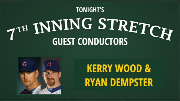 Wood, Dempster sing at stretch