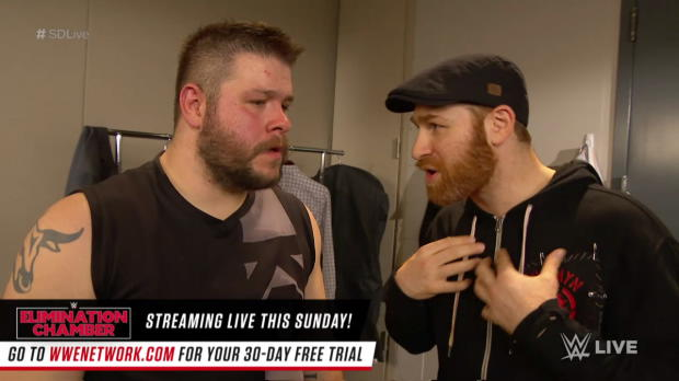 Kevin Owens thanks Sami Zayn: SmackDown LIVE, Feb. 20, 2018