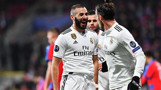 UEFA Champions League: Benzema vernascht Abwehr von Pilsen